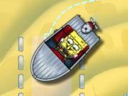 لعبة ايقاف قارب سبونج بوب